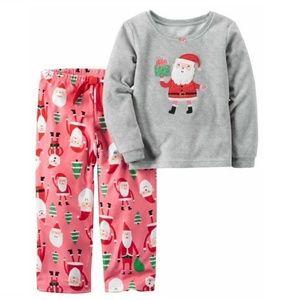 Carter's Santa Christmas Pajamas Size 4
